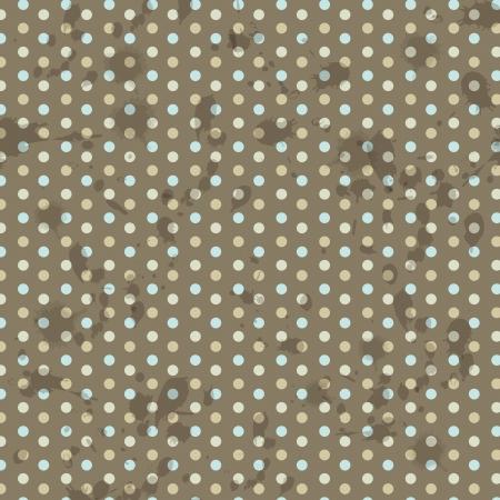 pattern pois: vettore polka dot pattern di sfondo Vettoriali