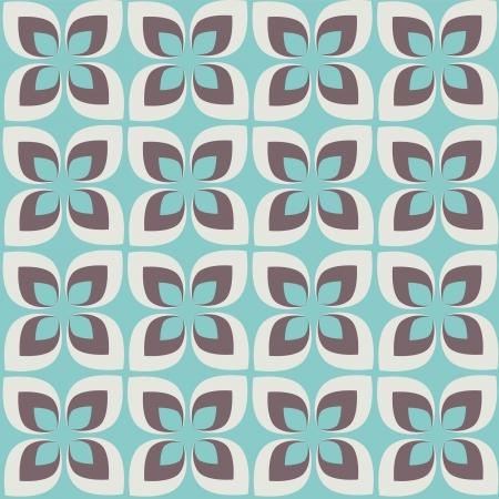 compendium:  abstract flower pattern background Illustration