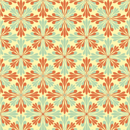 vector abstract flower pattern background