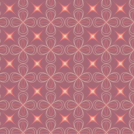 vector abstract flower pattern background Vector