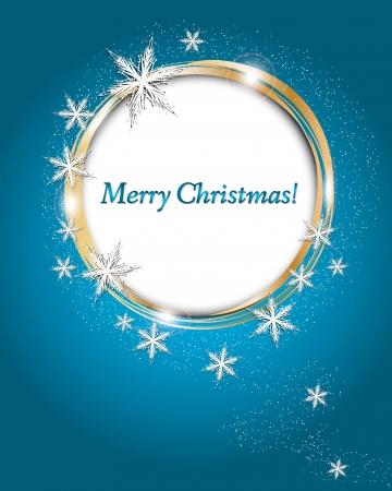 estrellas de navidad: Copos de nieve de Navidad de vectores de fondo Vectores