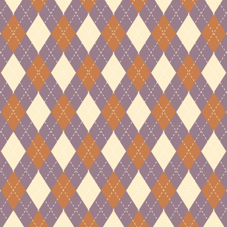 Argyll vector abstract pattern background Stock Vector - 22537362