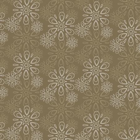 set of abstract flower pattern paper for scrapbook Ilustração