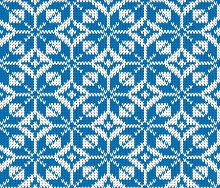 knitted background: vector de fondo sin fisuras de punto