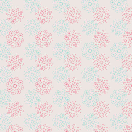 background pictures: vector abstract flower pattern background