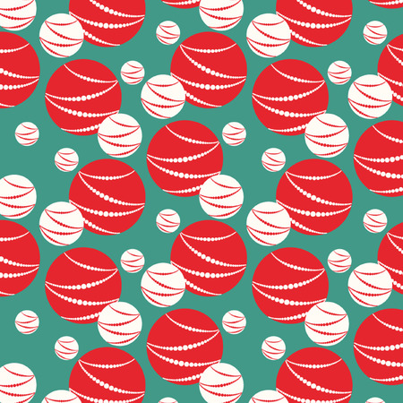 vector Christmas pattern background