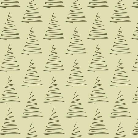 decoratively: vector Christmas pattern background