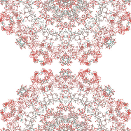 rosaces: Pattern Vector rosettes, �l�ments d�coratifs