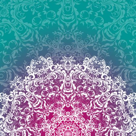 Vector Rosettes pattern, Decorative Elements