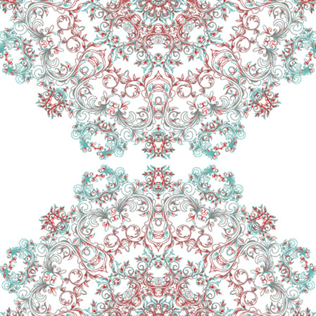 escarapelas: Vector patr�n Rosetas, Elementos Decorativos