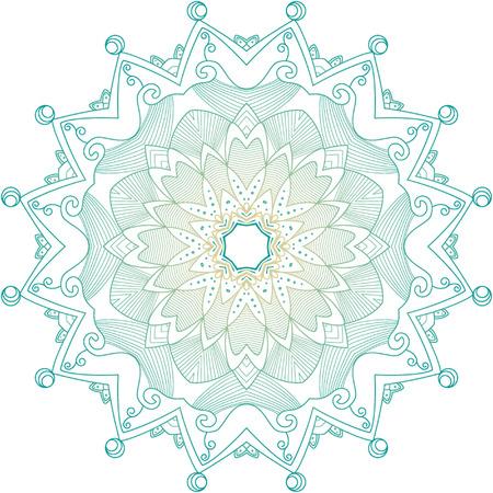 rosettes: Vector patr�n Rosetas, Elementos Decorativos