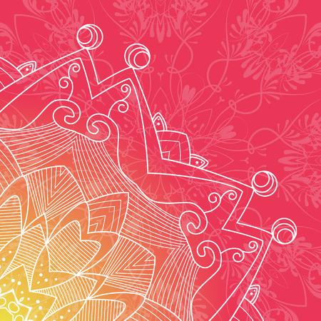 escarapelas: Vector patrón Rosetas, Elementos Decorativos