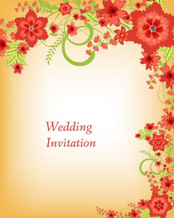 wedding reception decoration: Flowers abstract colorful background. Romantic Flower Background with place for your text
