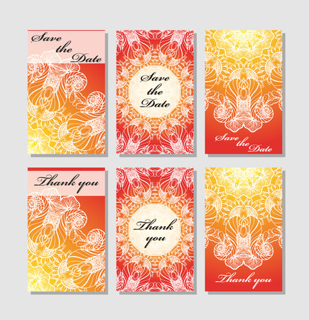 wedding reception decoration:  Template response card save the date card