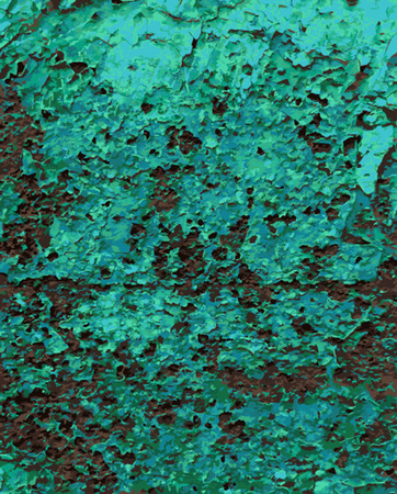 old metal: Abstract Rust Paint Crack Texture for your design. EPS10 vector. Old metal rust background. Vector seamless texture of cracks Illustration