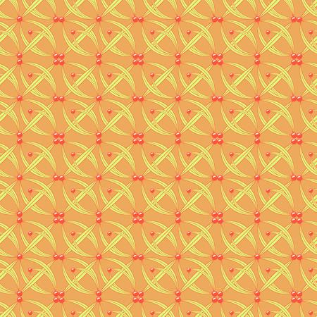 abstract flower vector pattern background Ilustração