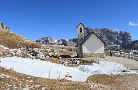 alpine hut:
