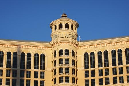 LAS VEGAS, NEVADA - SEPTEMBER 27, 2011 - The Bellagio Hotel and Casino in Las Vegas has won the AAA Five Diamond Award eleven times. Stock Photo - 10738940