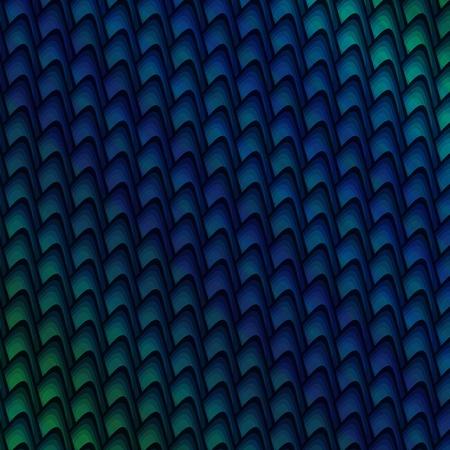 太字の青と緑の暗いパターン背景