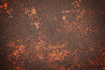 metal corrosion: Rusty old corrosion metal peeling grunge texture
