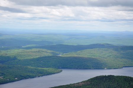 Aerial Shot of Mont Tremblant, Canada