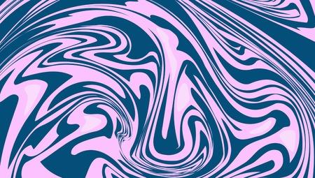 abstrakter Hintergrund aus flüssigem Farbpigment, das zum anderen fließt, Poser, Tapete, modern Vektorgrafik