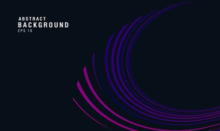 Abstract background with dynamic wave shaped lines in motion, cool colors presentation backdrop 일러스트