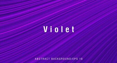 Abstract texture background of cool blue and violet lines forming surface with different depth, decorative wallaper cover design