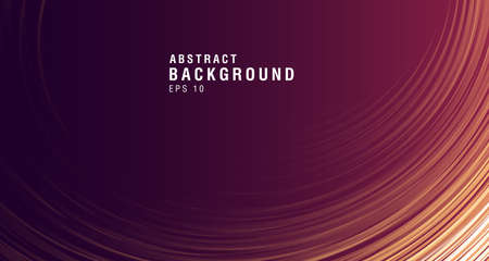 Abstract backdrop with lines fading in perspective to the center, presentation cover design composition 向量圖像