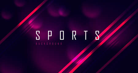 Dynamic sport background with clouds of dust and bright straight diagonal lines, presentation wallpaper Illusztráció