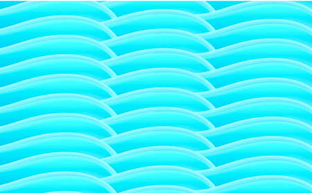 Blue abstract texture of 3d curves forming surface