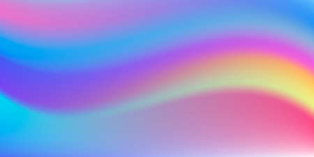 Gradient mesh background, fluid soft waves curve, watercolor effect