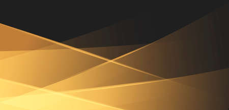 Abstract background with golden transparent shapes overlaying and creating texture