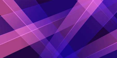 Abstract purple and blue dynamic pattern with random lights rays on dark background
