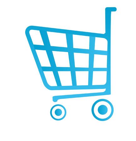 shop basket icon Stock Vector - 4245270