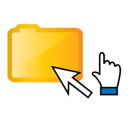 clic: vector web symbols