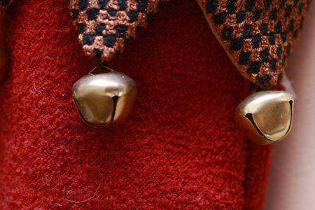 bells on christmas socks Stock Photo - 4353030