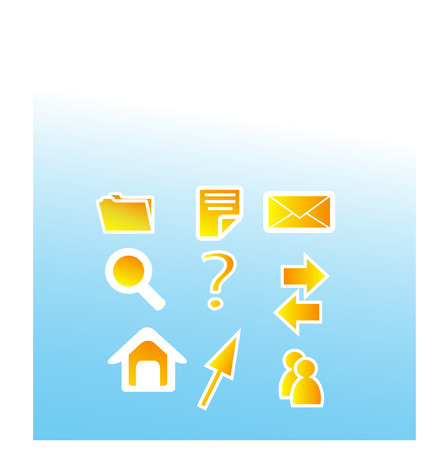 icons set Stock Vector - 4428139