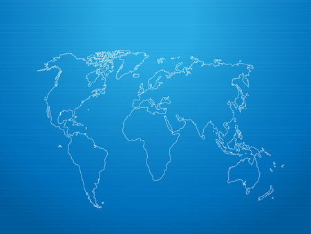 world map vector Vector