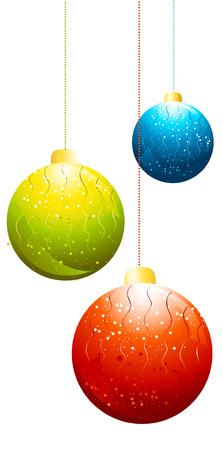 christmas balls Stock Vector - 6046541