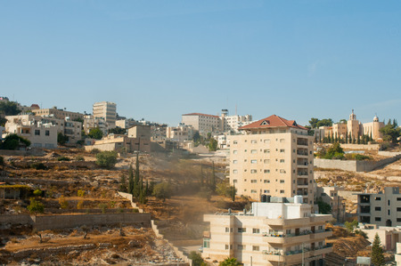 annexed: View of Bethlehem, Palestine Stock Photo