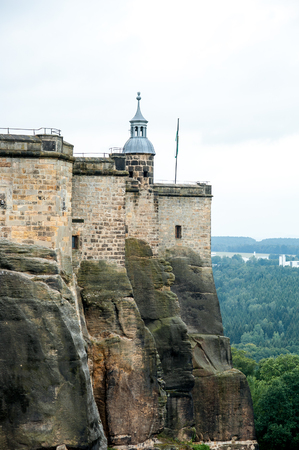 located: Part of koenigstein Fortress, located in rocks, Germany
