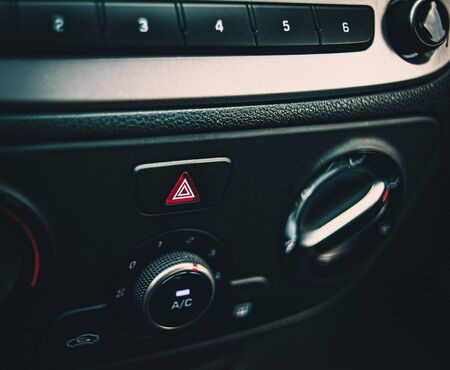 Car interrior background: Part of the car dashboard