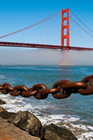 The Golden Gate Bridge in San Francisco, California, USA Stock Photo