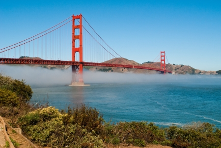 The Golden Gate Bridge in San Francisco, California, USA Reklamní fotografie