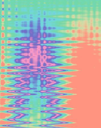 Pastel sound waves