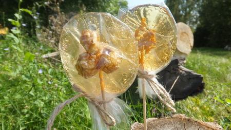 sweetstuff: Homemade lollipops Stock Photo