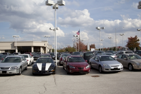 used: Auto Dealership vehicle lot