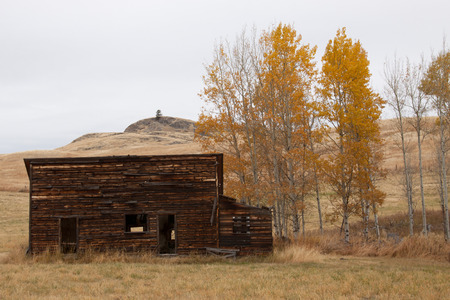 ghost town: An old homestead Ghost town