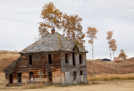 ghost town: Old Homesstead Ghost town Stock Photo